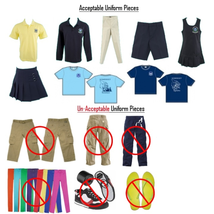 Uniforms only